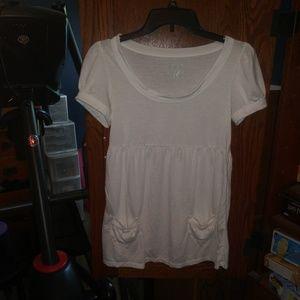 Xhilaration white short sleeve t-shirt size M